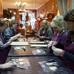 De workshops in de winkel in Zutphen