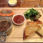 Potted duck and foie gras