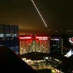 Steigenberger Airport Hotel by night