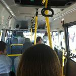 The 3 lira bus from Gumbet to Bodrum