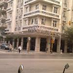 Egnatia Palace Hotel from outside