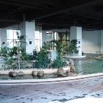 big spa area