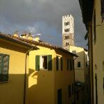 Aussicht gegen die Kathedrale (2. OG)