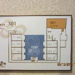 Floor Plan of room