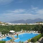 Balcony view towards Sitia & Mountains