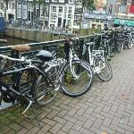 Bicycles every where!