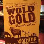 Wold Gold - fine real ale from Yorkshires' Wold Top Brewery.