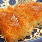 Kunafa, a traditional Arabic sweet