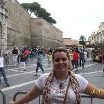 hotel alimandi y entrada a los museos vaticanos