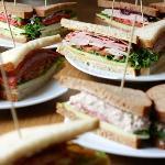 Custom-built sandwiches
