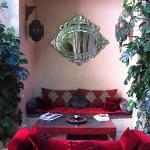 relaxation area on ground floor