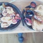 lobster Benedict and Lobster Omlet