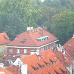 Вид на отель сверху