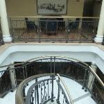 corredor de acceso habitaciones