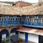 Cour intérieure (hôtel Casa Grande Lodging - Cusco)