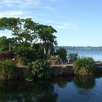 where stream enters the lake