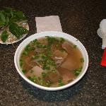 Pho - with rare beef