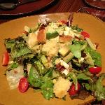 corn bread salad, very yummy