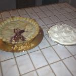 Fresh Shirlene made pies everyday from 3:00pm