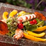 Try our delicious Lobster Salad, truly a work of art.