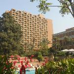 Palais, tour Zamalek, jardin et piscine