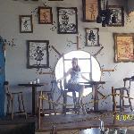 Parte del bar...muy lindo!