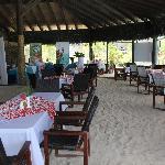 Restaurant - Sand floor