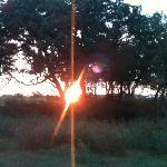 Sun coming thru on Lakes