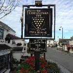 Their pub sign