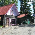 Historical Fairbanks buildings.