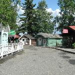 Historical Fairbanks buildings.