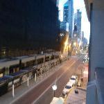 looking right from balcony
