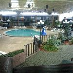 Inside Pool/Atrium area