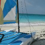 Beautiful Grace Bay Beach, walk for miles...