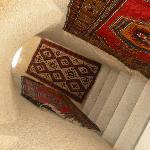 お部屋へ行く階段