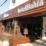 Acceso a Hotel Bahía.