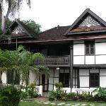 Un hôtel de style en bord du Mekong