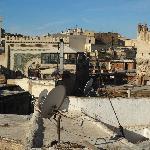 view from terrace Riad Dar Hanae in Fez