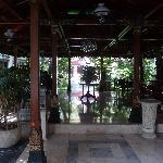 entrée et salon terrasse