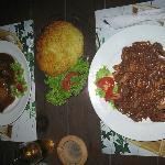 Beef-Stroganoff mit Rösti