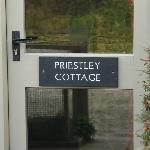 Our entrance door