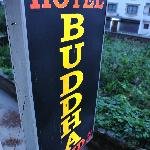 Sign of Hotel Budha Land