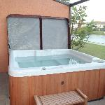 Private Hot Tub in house