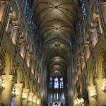 the cathedral of notre dame of paris, just minutes from the mont blanc