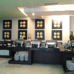 Breakfast @ Lotus Garden Restaurant, Golden Flower Hotel, Bandung, Indonesia.