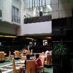 Breakfast @ Lotus Garden Restaurant, Golden Flower Hotel, Bandung, Indonesia.