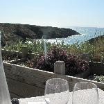 Déjeuner à la terrasse du Café Clara