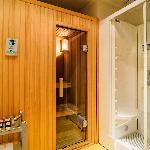 Royal apartment, sauna