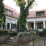 Innenhof mit Restaurants