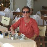 Late morning coffee in Sorrento